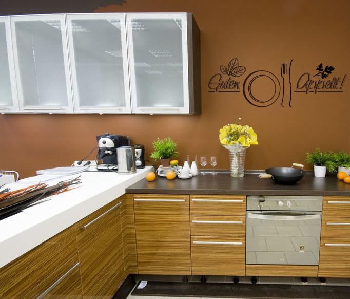 wandtattoo rezept k che kochen essen guten appetit ebay. Black Bedroom Furniture Sets. Home Design Ideas
